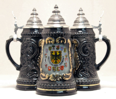 Deutschland Germany Eagle with State Crests German Beer Stein .5L