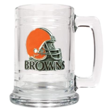 Cleveland Browns 15 oz. Glass Mug