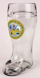United States Army Beer Boot 1L