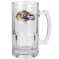 Baltimore Ravens Large Glass Mug