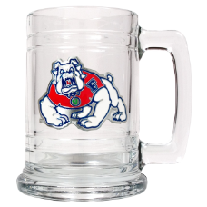 Fresno State Bulldogs Glass Mug