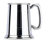 Commodore Two Line Fine English Pewter Tankard