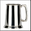 Friary Plain Glass Bottom English Pewter Tankard