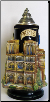 3-D Paris France Landmarks - LE - German Beer Stein 1.2L