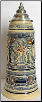 Drinking Scenes LE German Beer Stein 1L