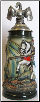 Dragon Lidded LE German Beer Stein .5L