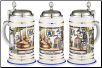 History of Brewing Porcelain German Beer Stein .5 L