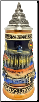 Berlin Relief Brandenburg Gate LE German Beer Stein .3 L