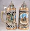 German Beer Stein - Nuernberg Christmas Market .5L