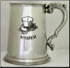 Wedding Usher Fine English Pewter Tankard