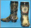 Black Germany German Beer Boot -