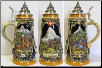 German Beer Stein - LE - Swiss Matterhorn .5L