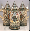 Deutschland Shield LE Rothenburg German Beer Stein .4L