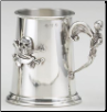 Skull & Skeleton Fine English Pewter Tankard