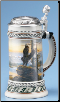 German Beer Stein - Eagle