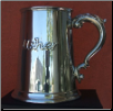 Usher English Pewter Tankard