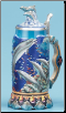 Dolphin German Stein LE Vivid Color .75L