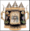 German Christmas Beer Stein - LE -  Silent Night Chapel .5L