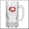 Minnesota Twins Oversized Glass Beer Mug