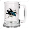 San Jose Sharks Glass Mug
