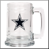 Dallas Cowboys 15 oz. Glass Mug