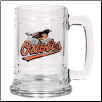Baltimore Orioles 15 oz.  Glass Mug