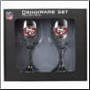 San Francisco 49ers Wine Glass Set