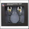 Minnesota Vikings Wine Glass Set