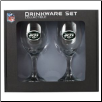 New York Jets Wine Glass Set