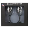 Atlanta Falcons Wine Glass Set