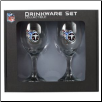 Tennessee Titans Wine Glass Set