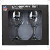 Carolina Panthers Wine Glass Set