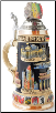Berlin Wall LE Relief German Beer Stein .75L
