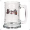 Atlanta Braves 15 oz. Glass Mug