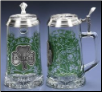Glass Beer Stein - Ireland