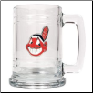 Cleveland Indians 15 oz. Glass Mug