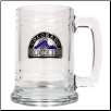 Colorado Rockies15 oz. Glass Mug