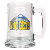 Denver Nuggets 15 oz Glass Mug