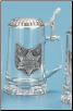 Glass Beer Stein - Law Enforcement