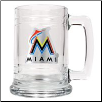 Miami Marlins 15 oz. Glass Mug
