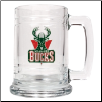 Milwaukee Bucks Team Glass Mug