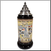 D-Day 75 Year Anniversary LE German Stoneware Beer Stein